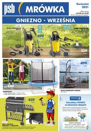 Gazetka promocyjna PSB Mrówka - PSB Mrówka Września, Gniezno