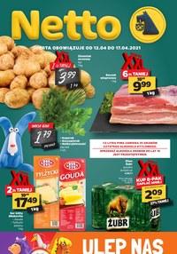 Gazetka promocyjna Netto - Oferta spożywcza Netto!   - ważna do 17-04-2021