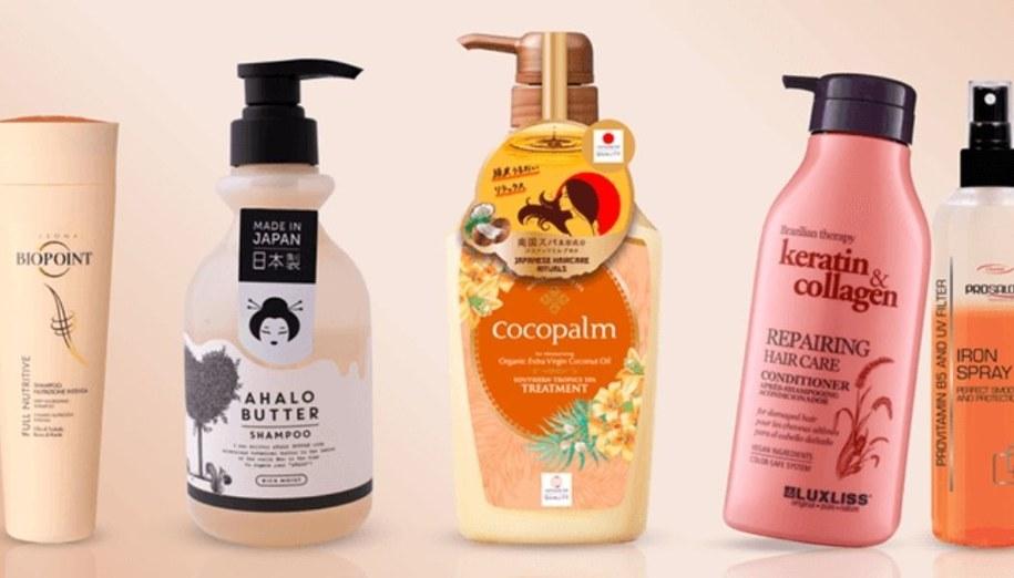 Kosmetyki do włosów z Hebe.
