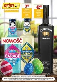 Gazetka promocyjna Prim Market - Oferta alkoholowa sieci Prim Market - ważna do 30-04-2021