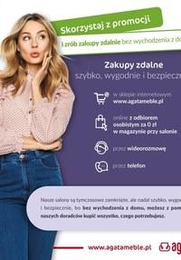 Gazetka promocyjna Agata  - Skorzystaj z promocji w sklepach Agata