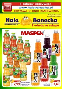 Gazetka promocyjna Hala Banacha - Z ochotą na zakupy Hala Banacha - ważna do 08-05-2021