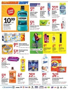 Niskie Ceny 5 - oferta dotyczy wybranych sklepów E.Leclerc