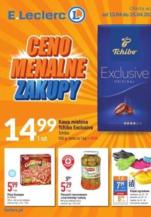 Gazetka promocyjna E.Leclerc - Cenomenalne zakupy - oferta dotyczy wybranych sklepów E.Leclerc