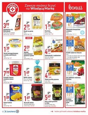 Cenomenalne zakupy - oferta dotyczy wybranych sklepów E.Leclerc