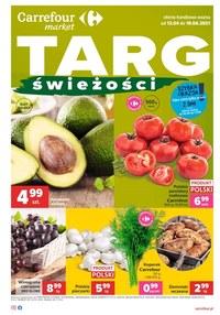 Gazetka promocyjna Carrefour Market - Oferta handlowa Carrefour Market - ważna do 19-04-2021