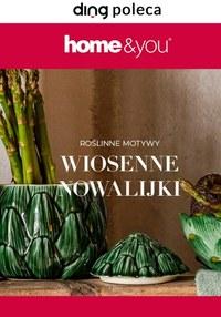 Gazetka promocyjna Home&You - Roślinne motywy w Home&You - ważna do 30-04-2021