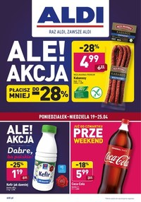 Gazetka promocyjna Aldi - Przeweekend w Aldi - ważna do 25-04-2021