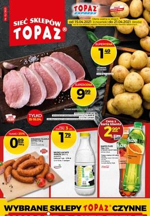 Gazetka promocyjna Topaz - Nowe promocje w Topaz!