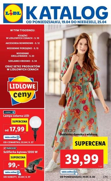 Najnowszy katalog Lidla