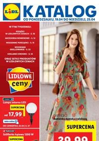 Gazetka promocyjna Lidl - Najnowszy katalog Lidla - ważna do 25-04-2021
