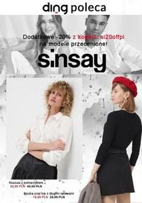 Gazetka promocyjna Sinsay - Stylowe kreacje w Sinsay - ważna do 30-04-2021