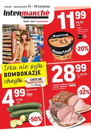 Gazetka promocyjna Intermarche Super - Bomba okazje w Intermarche!