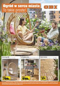 Gazetka promocyjna OBI - Ogród w sercu miasta z Obi