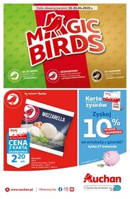 Magic Birds w Auchan!