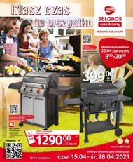 Selgros - katalog grill
