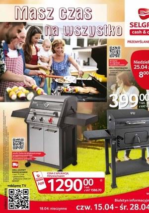 Gazetka promocyjna Selgros Cash&Carry - Selgros - katalog grill