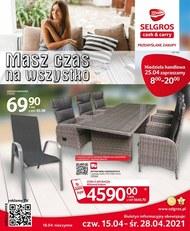 Selgros - oferta z meblami ogrodowymi