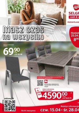 Gazetka promocyjna Selgros Cash&Carry - Selgros - oferta z meblami ogrodowymi