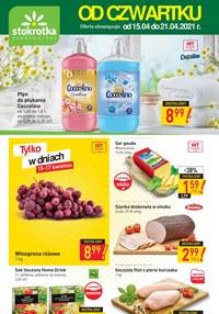 Gazetka promocyjna Stokrotka Supermarket - Od czwartku w Stokrotce!  - ważna do 21-04-2021