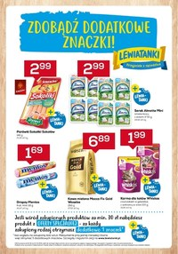 Gazetka promocyjna Lewiatan - Czas na nowe znaczki w Lewiatanie - ważna do 21-04-2021