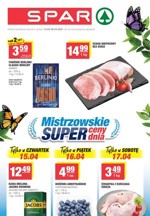Gazetka promocyjna SPAR - Super ceny w sklepach SPAR