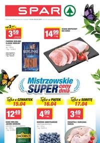 Gazetka promocyjna SPAR - Super ceny w sklepach SPAR   - ważna do 20-04-2021