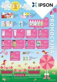 Gazetka promocyjna Ipson - Promocje na kwiecień w Ipson  - ważna do 09-05-2021