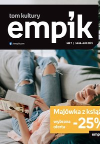 Gazetka promocyjna EMPiK - Majówka z książką - Empik - ważna do 04-05-2021