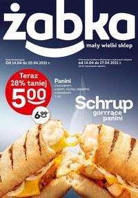 Gazetka promocyjna Żabka - Chrupiące kanapki w Żabce - ważna do 28-04-2021