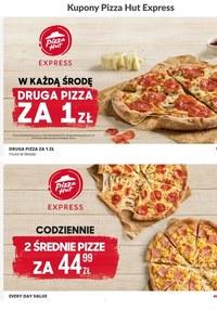 Gazetka promocyjna Pizza Hut - Zasmakuj w promocjach Pizza Hut