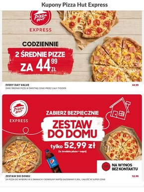 Zasmakuj w promocjach Pizza Hut