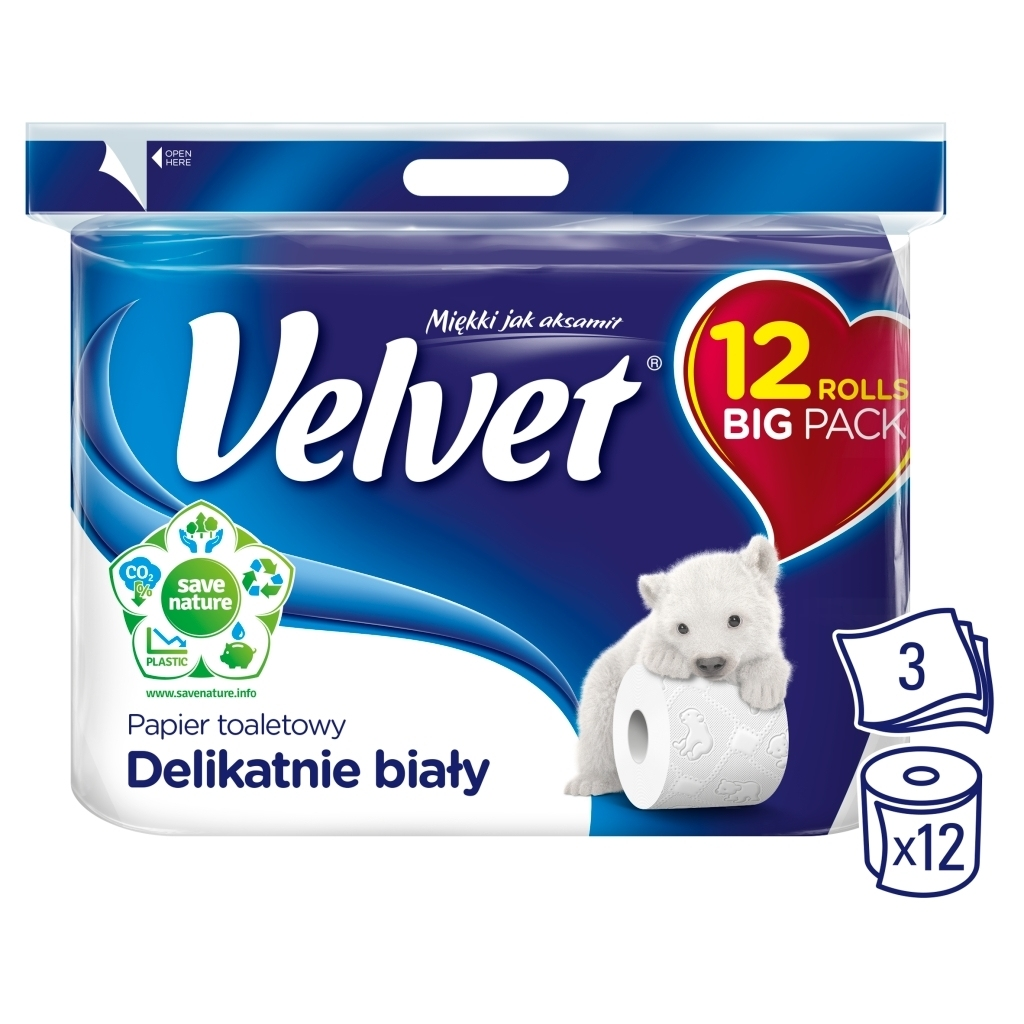Papier toaletowy Velvet - 3