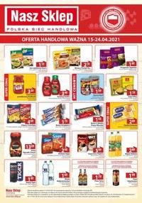 Gazetka promocyjna Nasz Sklep - Oferta handlowa Nasz Sklep