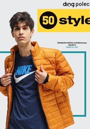 Gazetka promocyjna 50 style - Najmodniejsze kurtki w 50 style