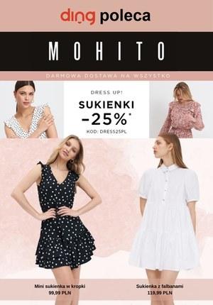 Gazetka promocyjna Mohito - Zniżka na sukienki w Mohito