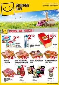 Gazetka promocyjna Uśmiechnięte zakupy - Oszczędzaj z nami - Uśmiechnięte Zakupy!  - ważna do 02-05-2021