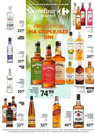 Gazetka promocyjna Carrefour Market - Carrefour Market - oferta alkoholowa