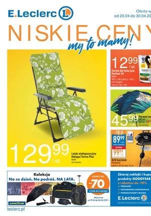 Gazetka promocyjna E.Leclerc - Niskie Ceny 2 - oferta dotyczy wybranych sklepów