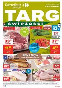 Gazetka promocyjna Carrefour Market - Targ świeżości w Carrefour Market - ważna do 26-04-2021