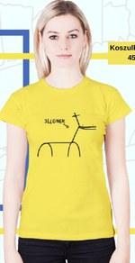 Koszulka damska Kuce z Bronksu