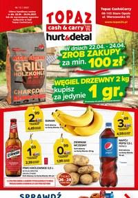 Gazetka promocyjna Topaz - Topaz - nowa oferta hurt & detal - ważna do 28-04-2021