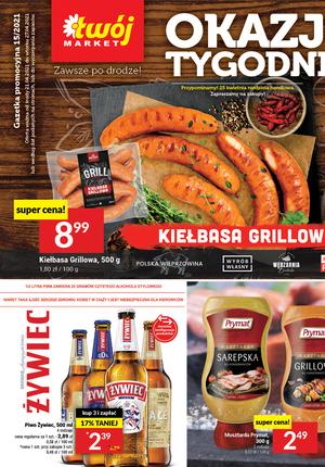 Gazetka promocyjna Twój Market - Grillowanie z Twój Market