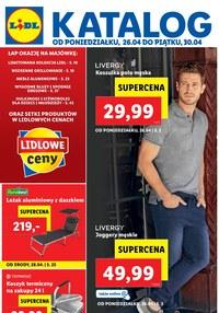 Gazetka promocyjna Lidl - Łap okazję na Majówką w Lidlu