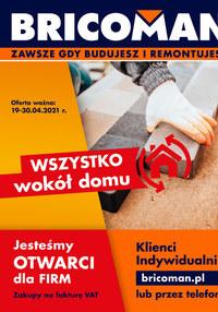 Gazetka promocyjna Bricoman - Bricoman - nowa oferta - ważna do 30-04-2021