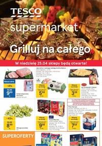 Gazetka promocyjna Tesco Supermarket - Grilluj na całego z Tesco Supermarket - ważna do 28-04-2021