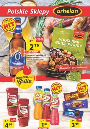 Gazetka promocyjna Arhelan - Produkty idealne na grilla w Arhelan