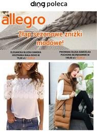 Sezonowe zniżki modowe na Allegro!