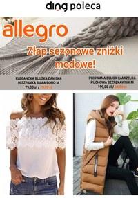 Gazetka promocyjna Allegro - Sezonowe zniżki modowe na Allegro!  - ważna do 09-05-2021