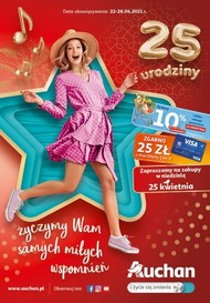 Urodzinowe promocje w Auchan